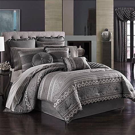 queen  york amalfi comforter set bed bath