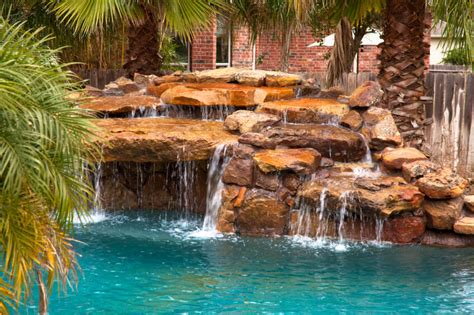 80 Fabulous Swimming Pools With Waterfalls (pictures