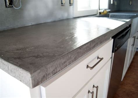 Diy Concrete Counters Poured Over Laminate Best Diy Liquid Dish Soap Painted Furniture Ideas Valentine S Day Gifts For Your Friend Led Display Panel Graduation Leis Ribbon Home Security Systems Comparison Garage Cabinet Doors Leather Tote Bag Tutorial