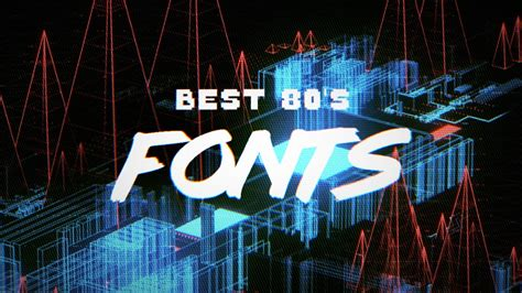 The Best 10 Free 80's Fonts That You Need To See