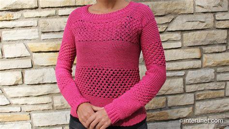 how to crochet a sweater how to crochet a sweater raspberry stich stripes
