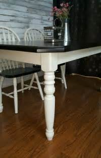 farmhouse table set  antique white java general