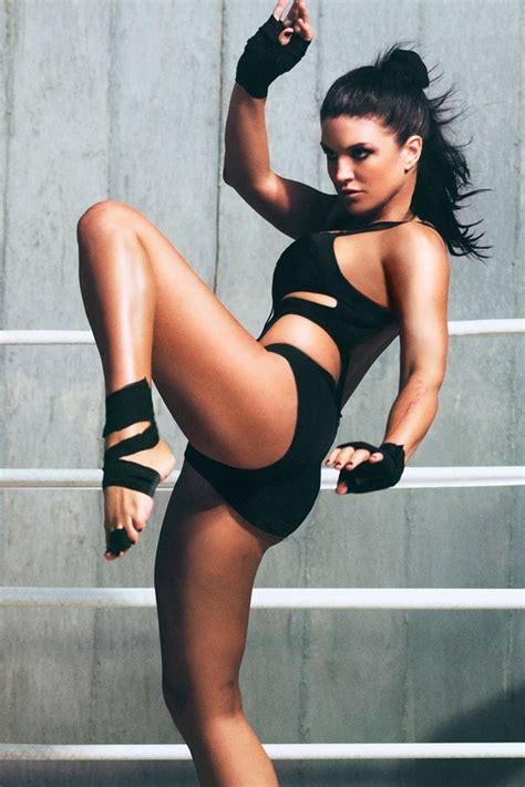 49 Sexy Photos Of Gina Carano Legs Are Truly Mesmerizing