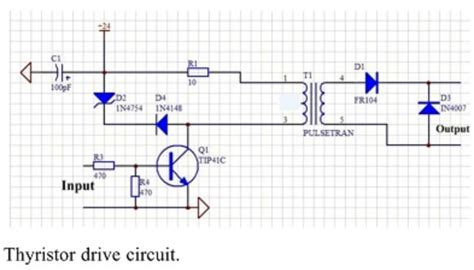 Transistors Can Replace The Pulse Transformer With