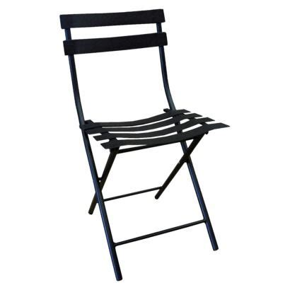 Black Folding Chairs At Target by Patio Folding Chair Thrshd 18in Black For The Houzz