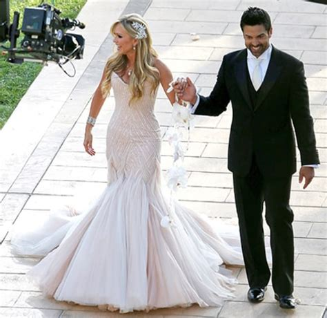 Tamra Barney Wedding Dress Details From Her Nuptials To. Woven Wire Rings. Graff Engagement Rings. Unisex Wedding Rings. Halo Vintage Engagement Rings. Big Circle Diamond Engagement Rings. Obsidian Rings. Cursive Name Wedding Rings. Medieval Engagement Rings
