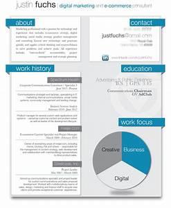 Sample resume for digital marketing career brandneuxcom for Digital resume template