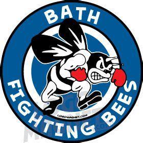 bath fighting beesjpg custom car magnet logo magnet