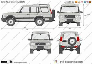 Land Rover Discovery Vector Drawing