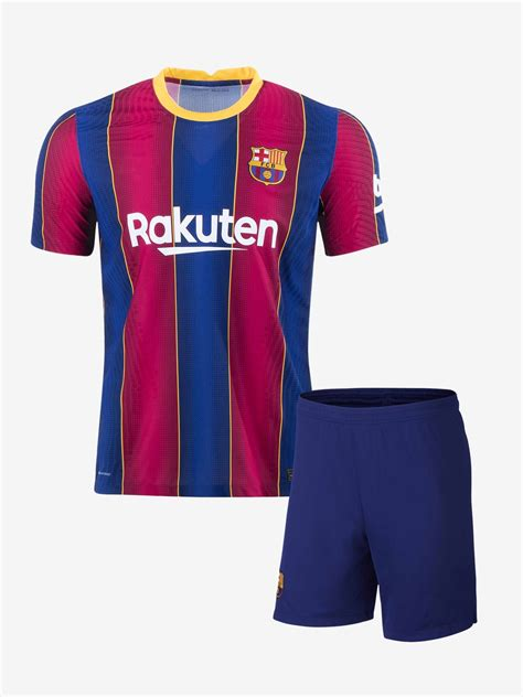 Barcelona Home Jersey And Shorts 20 21 Season Online In India