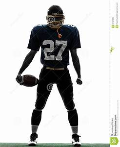 American Football Player Standing | Clipart Panda - Free ...