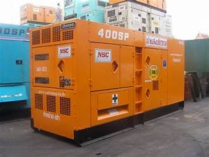 Used Denyo Dca400spk Other Generators Year  1989 For Sale