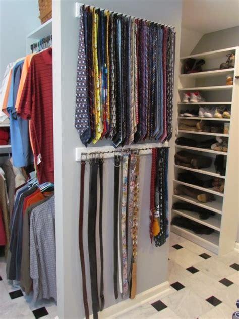 Tie Rack For Closet by Belts Ties Atlanta Closet