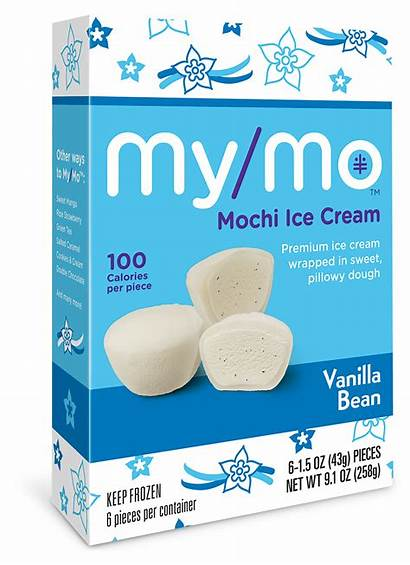 Vanilla Mochi Cream Ice Mo Bean Balls
