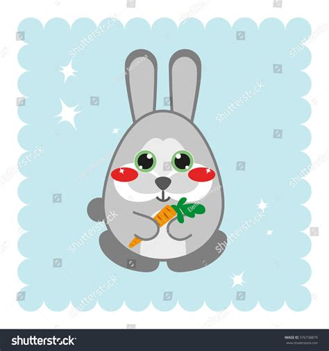 Big Anime Eyes Kawaii Kawaii Anime Forest Bunny With Big Sparkle Eyes And Sweet