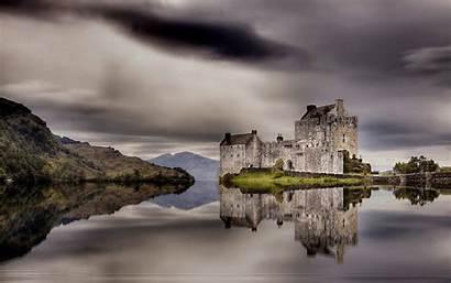Scotland Scottish Castle Landscape Christmas Wallpapers Wallpapersafari