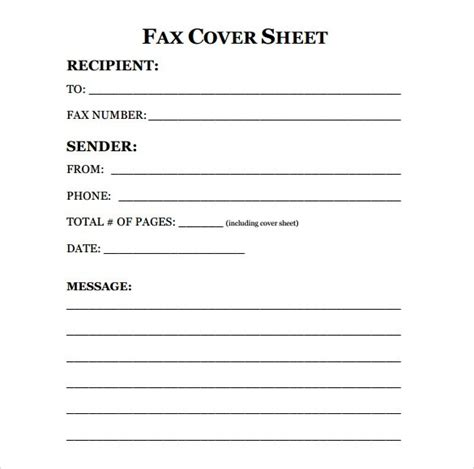 12808 business fax cover sheet template fax cover sheet template microsoft word templates with