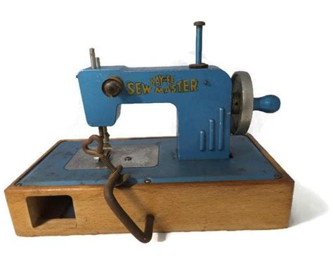 Vintage Kayanee Sew Master Toy Sewing Machine Blue Miniature Best Buy Curtains Curtain Lengths And Widths Types Of Stage Length Rods Laura Ashley Bedding Shower Accessories Set Cheap Quality Wall Shadow Box