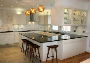 Modern Above Kitchen Cabinet Decor by Modern Small U Shaped Kitchen Ideas And Lighting With Nice
