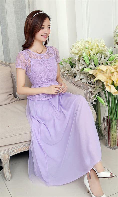 long dress pesta brokat cantik