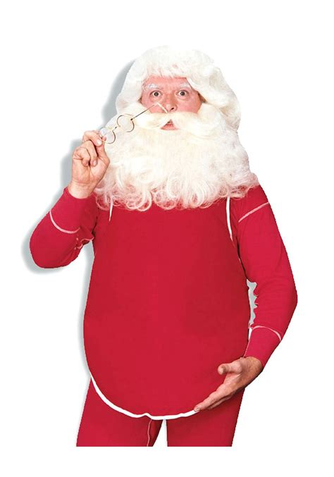 big santa claus belly santa claus costume accessory