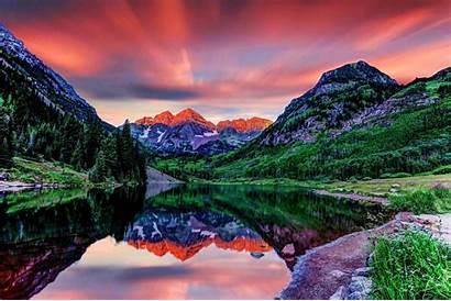 Colorado Mountains Elk Bells Desktop Maroon Mountain