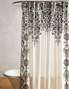 Rideau De Douche : 15 rideaux de douche pour une salle de bain tendance ~ Voncanada.com Idées de Décoration