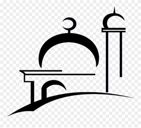 76 gambar masjid hitam putih hd