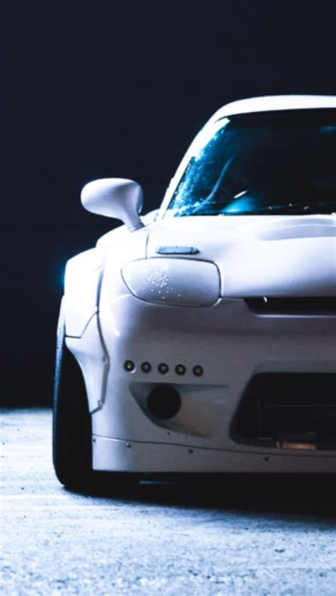 Mazda Iphone Wallpaper by Mazda Rx7 Rocket Bunny Iphone Wallpaper