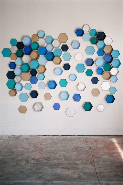 geometric hexagon backdrop michelle edgemont
