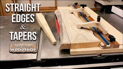 straight edges  tapers   table  plans