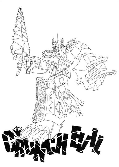 coloriage power ranger dino charge artemiaorg