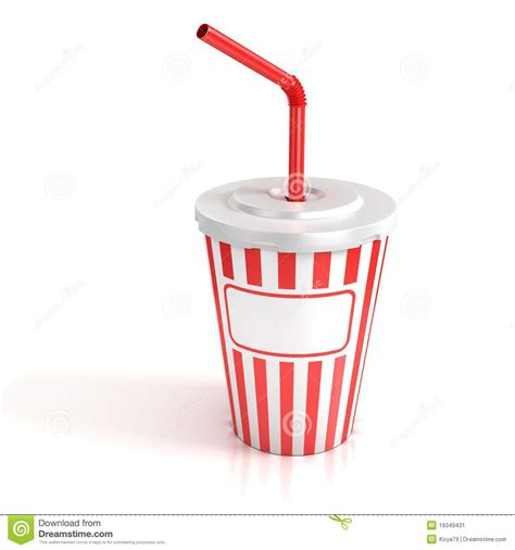 cuisine cup fast food paper cup with stock illustration