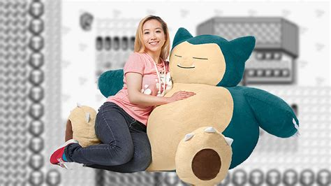 snorlax bean bag chair coming exclusively to think