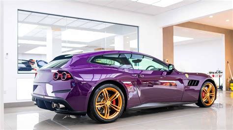 (the one on old brompton road) it has a gold double. Jay Kay's Ferrari GTC4Lusso is Purple With Gold Wheels ...