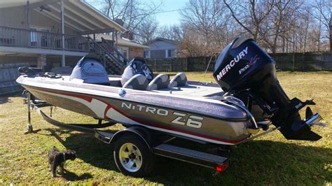 Nitro Boat Trailer Guides by Nitro Z 6 Boats For Sale