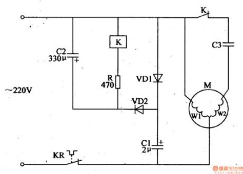 substitutive motor centrifugal switch circuit 2 circuit diagram world