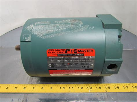 Reliance Electric Motors by Reliance Electric P56x1337t Ac Motor 3 4hp 3ph 1725rpm
