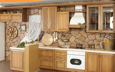 wallpaper kitchen ideas beautiful kitchen wallpaper 358687