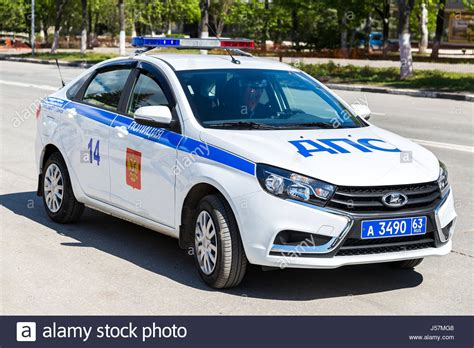 Russian Police Patrol Car