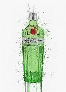 Apple Product Chart Gin Bottle Wall Art Print 39 Emerald 2 0 39 We Love Prints Ltd