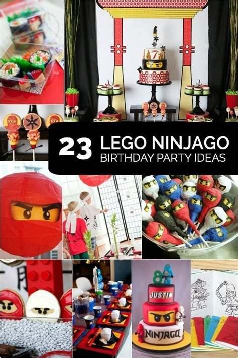 lego ninjago birthday party ideas  spaceships