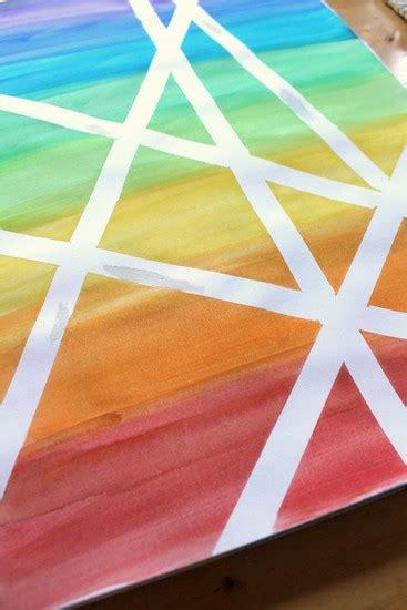washi tape art project nurturestore