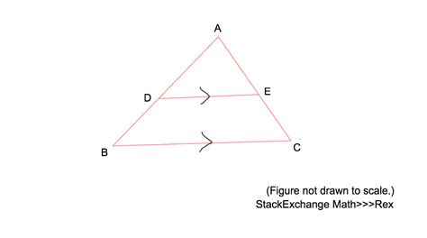 Math Geometry Diagram by Geometry Ratio Of Parts Of A Triangle Mathematics