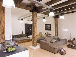 Cucina e soggiorno open space (Foto) Design Mag