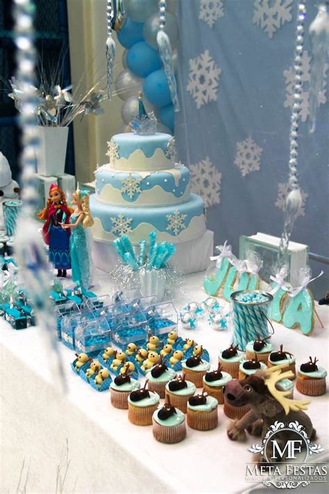 karas party ideas frozen themed birthday party ideas