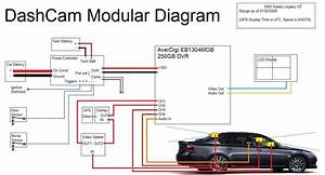 Dashcam Overview - Wiring Diagram