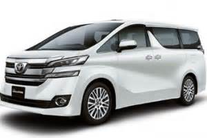 Gambar Mobil Toyota Vellfire by 41 Jenis Jenis Mobil Toyota Terbaru Di Indonesia