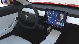 Tesla Model 3 Red with interior by dragosburian | 3DOcean