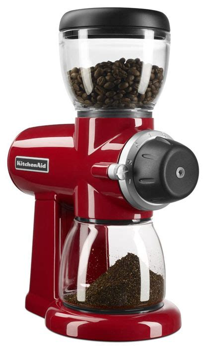Looking for best coffee grinders (burrs) and not sure which one to pick? KitchenAid-KCG0702OB-Burr-Coffee-Grinder